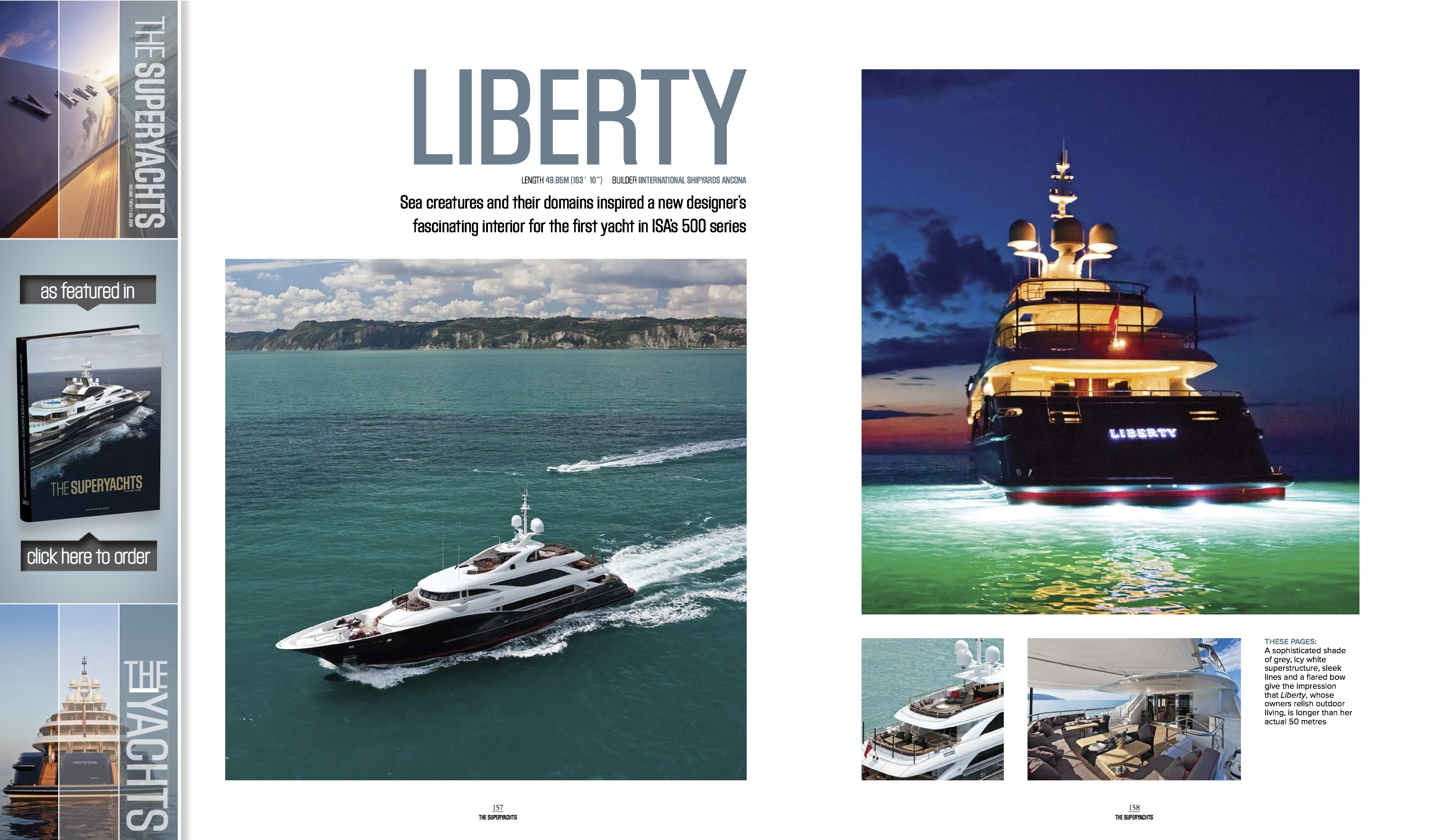 The Superyacht Book 2012 Features Ubiquos Yacht Design
